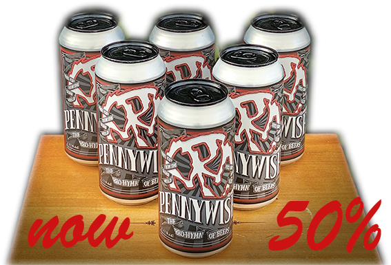 6 Pack Cans Pennywiser IPA